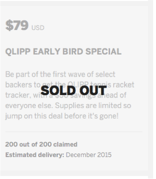 QLIPP 79 sold out